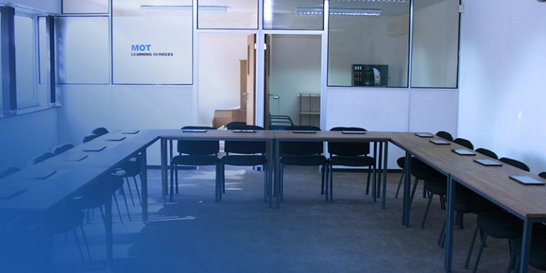 MOT Training Centre Classroom in Basingstoke